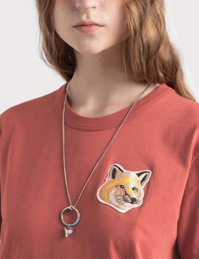 Maison Kitsune Necklace Fox Head Ring