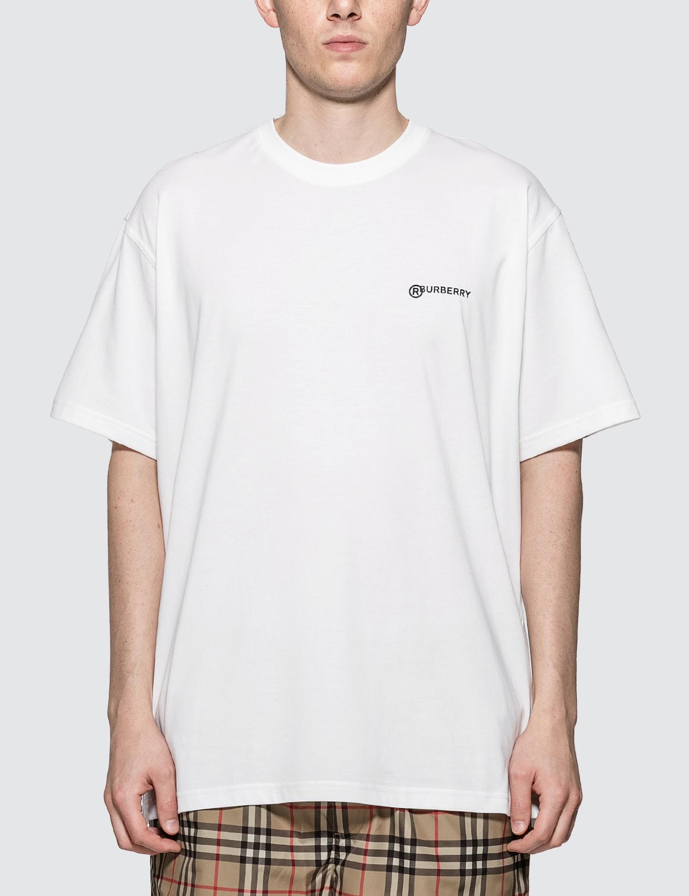 Location Print Cotton Oversized T-shirt