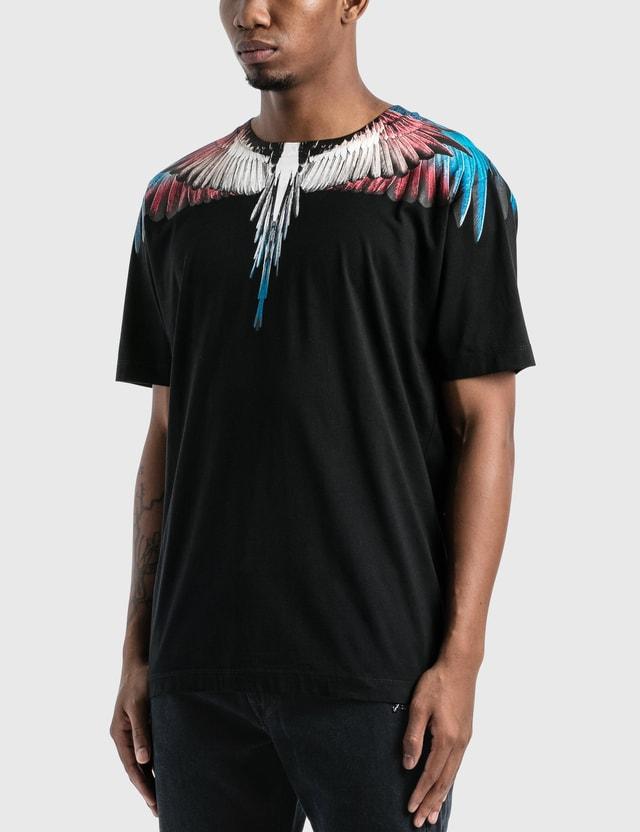 Marcelo Burlon Wings Basic T-Shirt Black Men