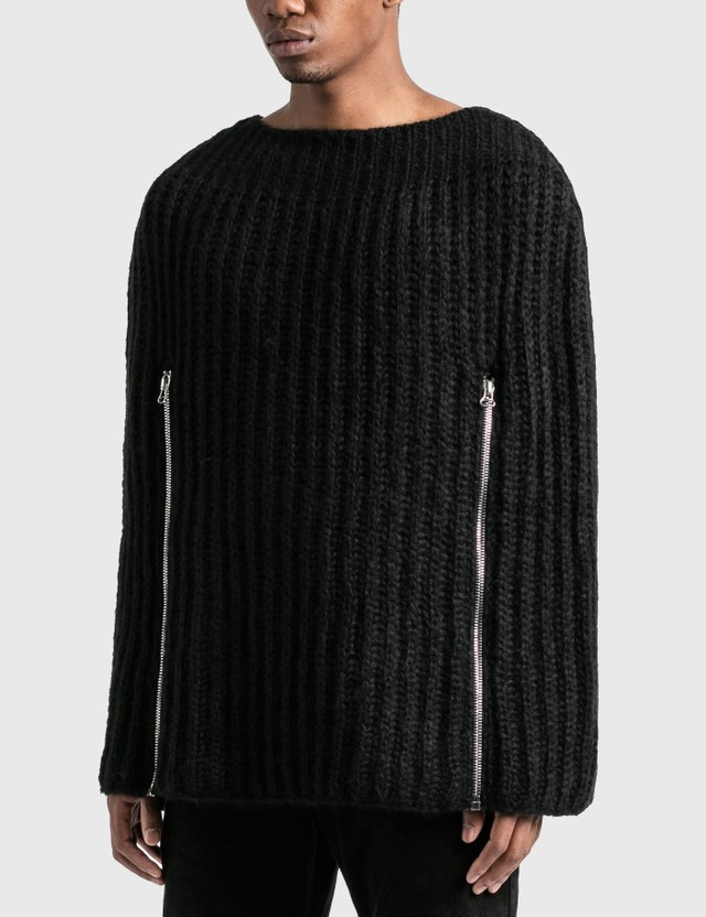 Raf Simons Zipper Sleeves Transformer Cape