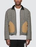 Loewe Houndstooth Jacket Patch Pockets Picutre