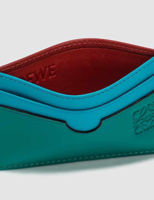 Loewe Color Block Plain Cardholder