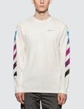 Off-White Diag Gradient L/S T-Shirt Picture