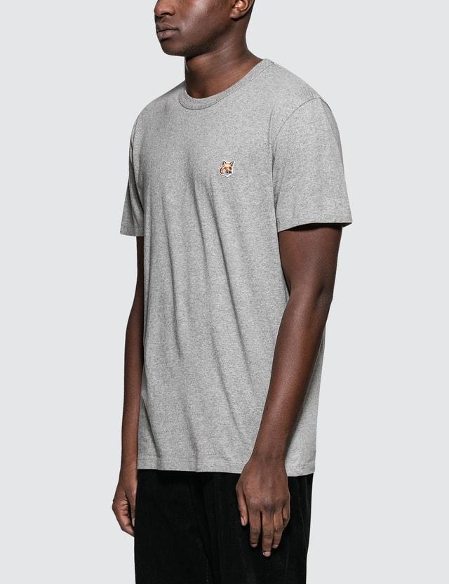 Maison Kitsune Fox Head Patch S/S T-Shirt