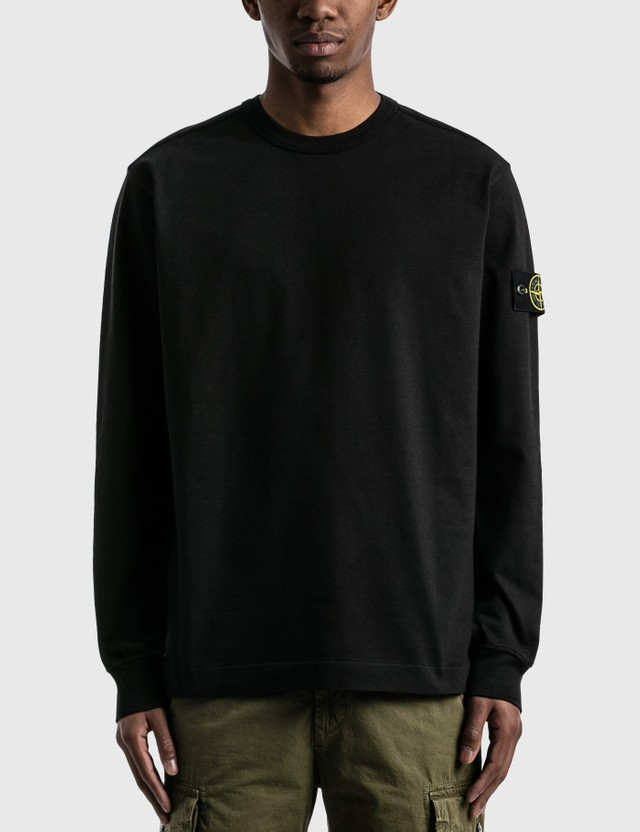 Stone Island Lightweight Sweatshirt Black Men