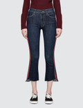 Mother Insider Crop Step Fray Jeans Picture