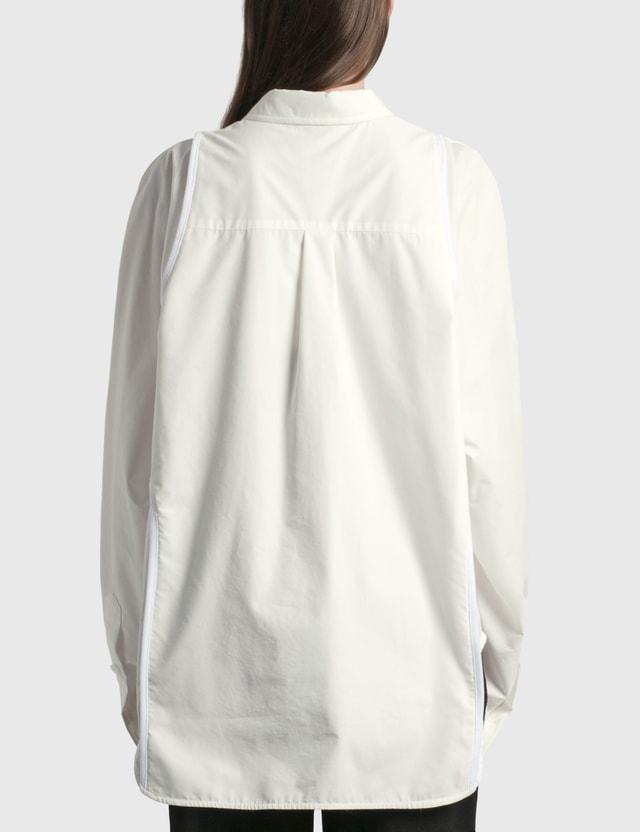 We11done Tank Top Detail Shirt White Women