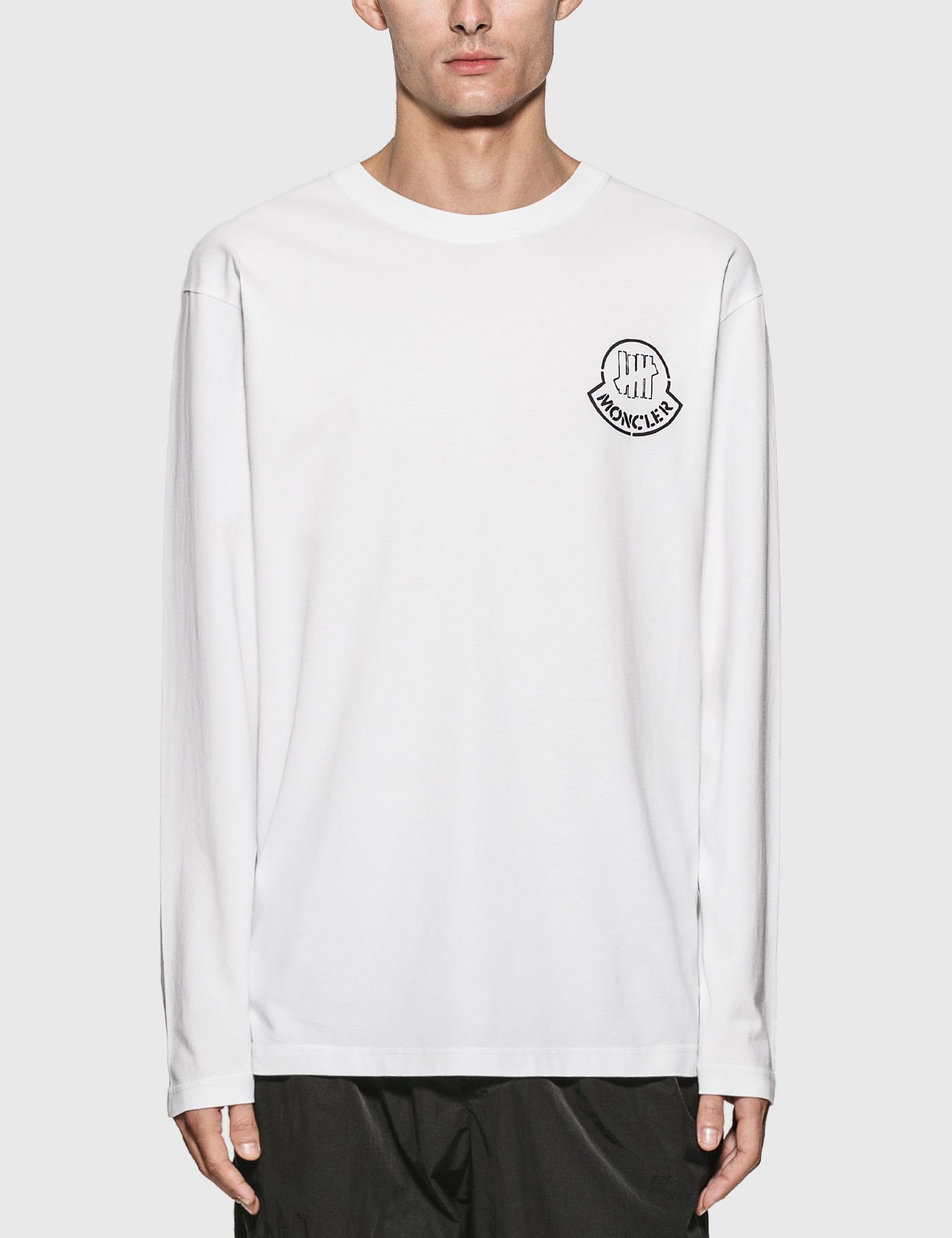 Moncler Genius Tops 1952 X UNDEFEATED LOGO LONG SLEEVE T-SHIRT