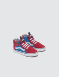 Vans Marvel SK8-HI Zip Red Kids