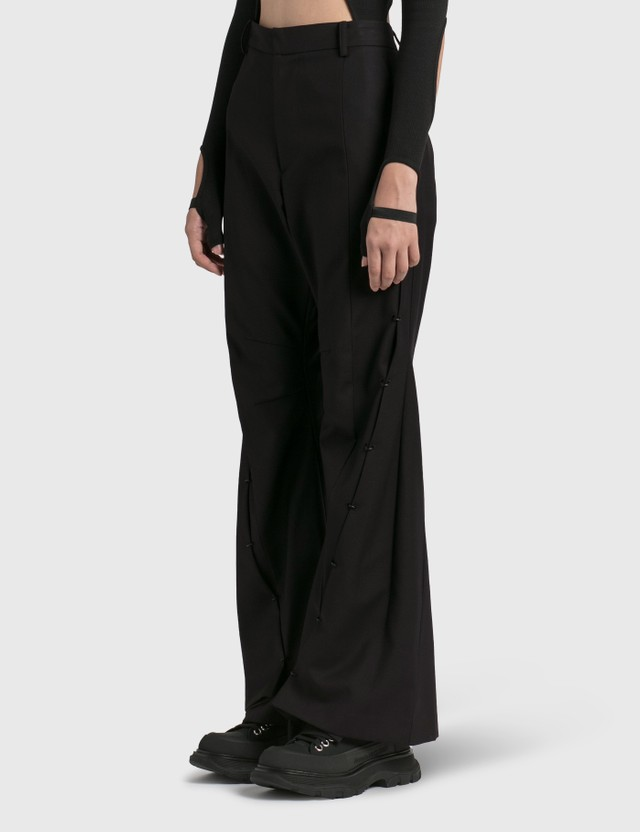 Hyein Seo Pierced Trousers Black Women