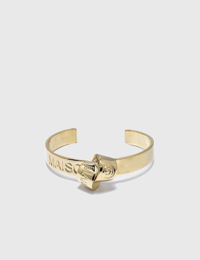 MM6 Maison Margiela Knot Cuff Bracelet