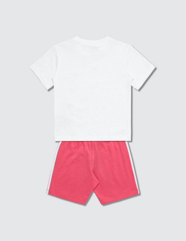 Adidas Originals Trefoil Shorts T-shirt Set (Kids)