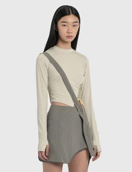 Hyein Seo Twisted Long Sleeve Top