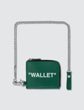 Off-White Quote Chain Wallet Picture