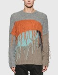 JieDa Panel Over Knit Sweaterの写真