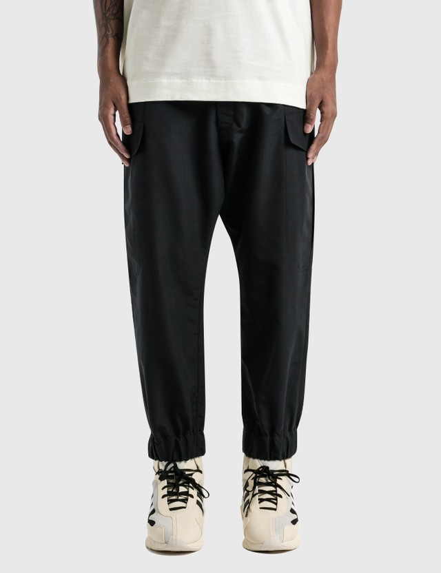 Y-3 Classic Winter Nylon Cargo Pants Black Men