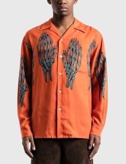Wacko Maria Hawaiian Long Sleeve Shirt (Type-5)