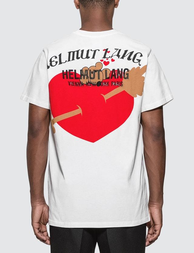 Helmut Lang Heart Print T-Shirt