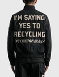 Emporio Armani R-EA Show Nylon Jackets Black Men