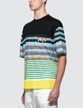 Prada Stripe Box Fit S/S T-Shirt