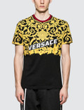 Versace Feather Print S/S T-Shirt Picture