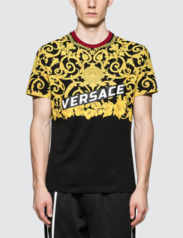 Versace Feather Print S/S T-Shirt