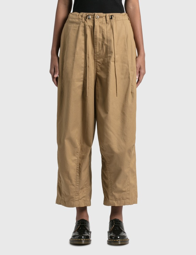 Needles H.D. Pant - Military Khaki Women