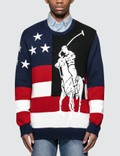 Polo Ralph Lauren Graphic-intarsia Cotton-knit Sweater Picture