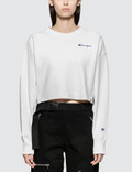 Champion Reverse Weave Cropped Crewneck Sweatshirt Picture