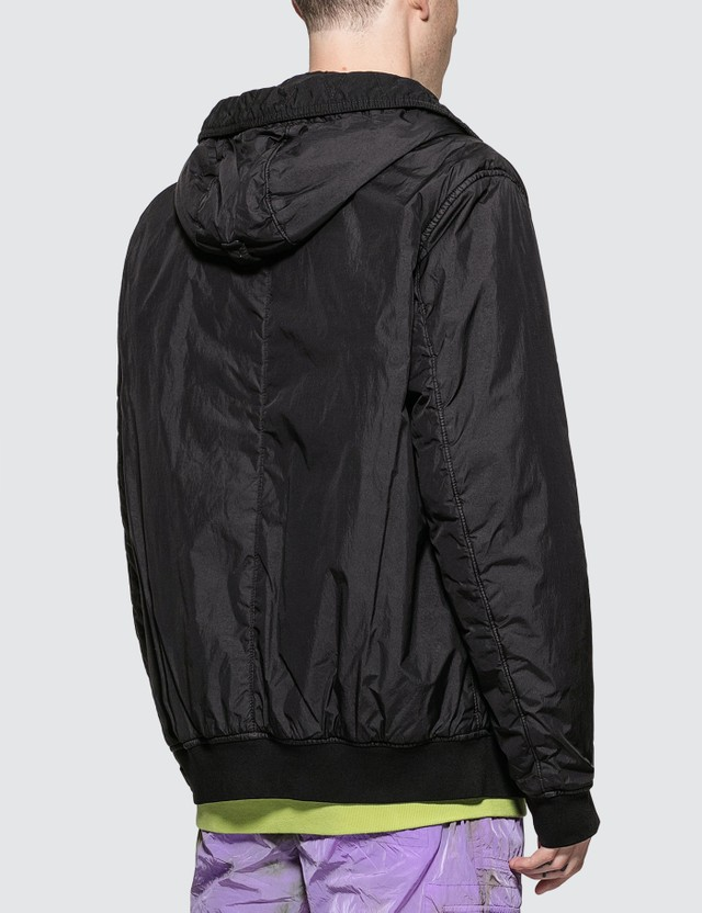 Stone Island Garment Dyed Crinkle Reps NY Down Jacket