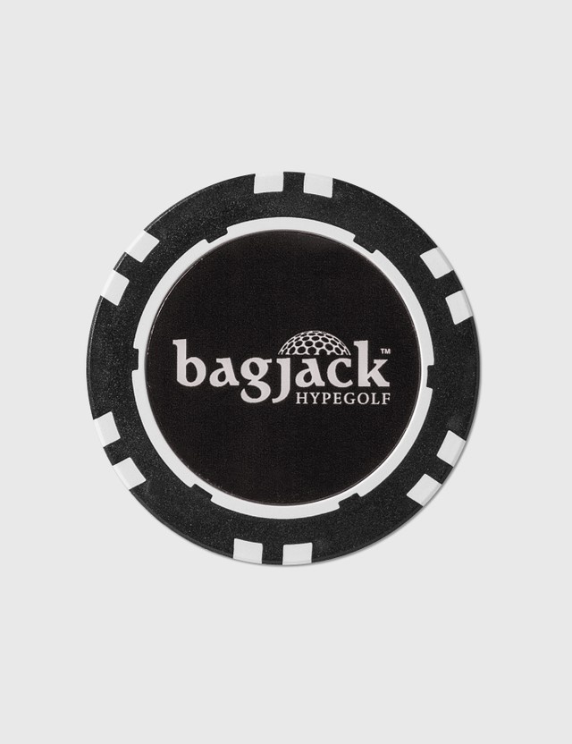 bagjack GOLF Hypegolf X bagjack GOLF Golf Ball Chip Marker Black Men