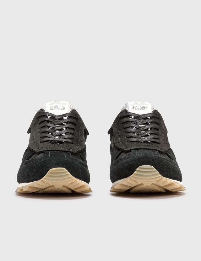 Maison Margiela Runner Sneaker Black/white/black Men