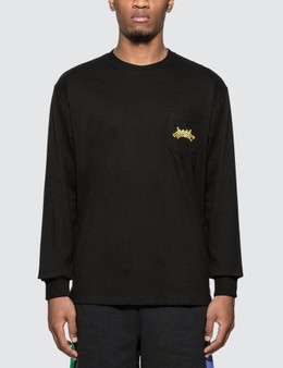 Have A Good Time HAGT Club Pocket Long Sleeve T-shirt