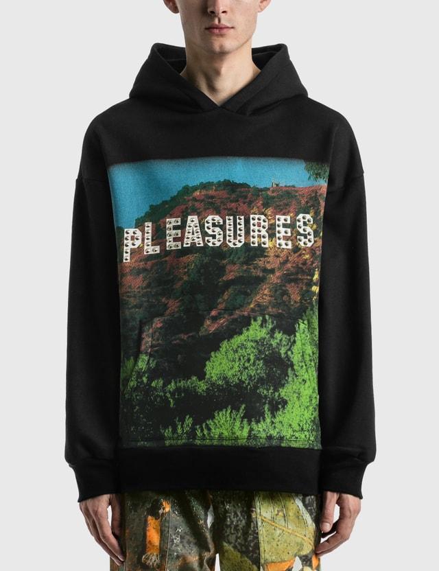 Pleasures Pleasurewood Studded Hoodie Black Men