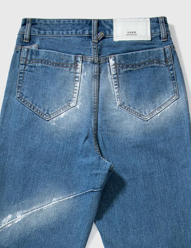 Ader Error Beam Jeans Blue Men