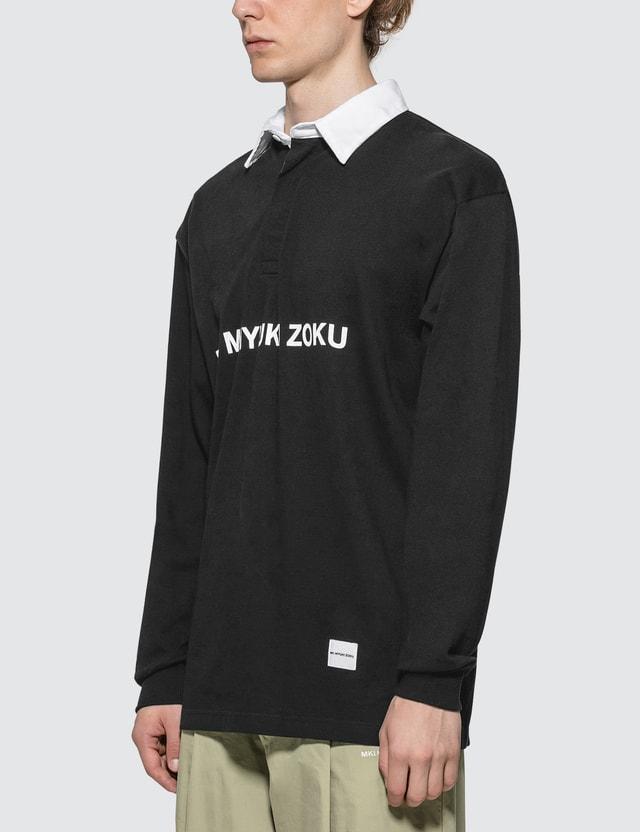 MKI Miyuki Zoku Logo Rugby Polo Shirt