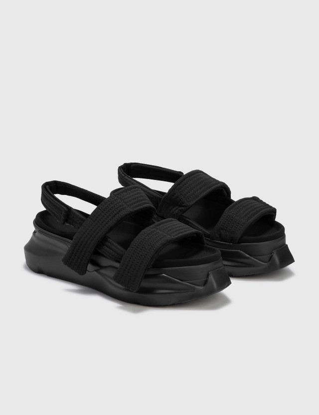 Rick Owens Drkshdw Abstract Sandal Black Men