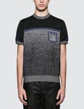 Prada Melange Knitted S/S T-Shirt Picture
