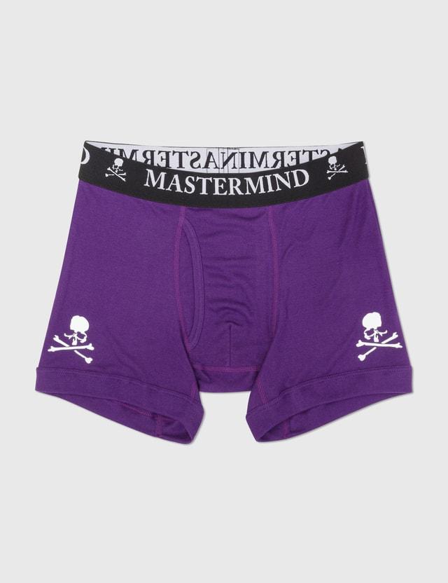 Mastermind World Cotton Boxer Set Of 3 Red/purple/black Men