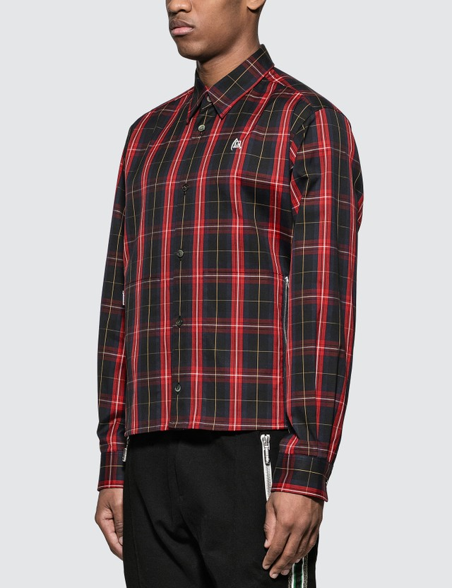 Undercover Checked Bloody Geekers Shirt