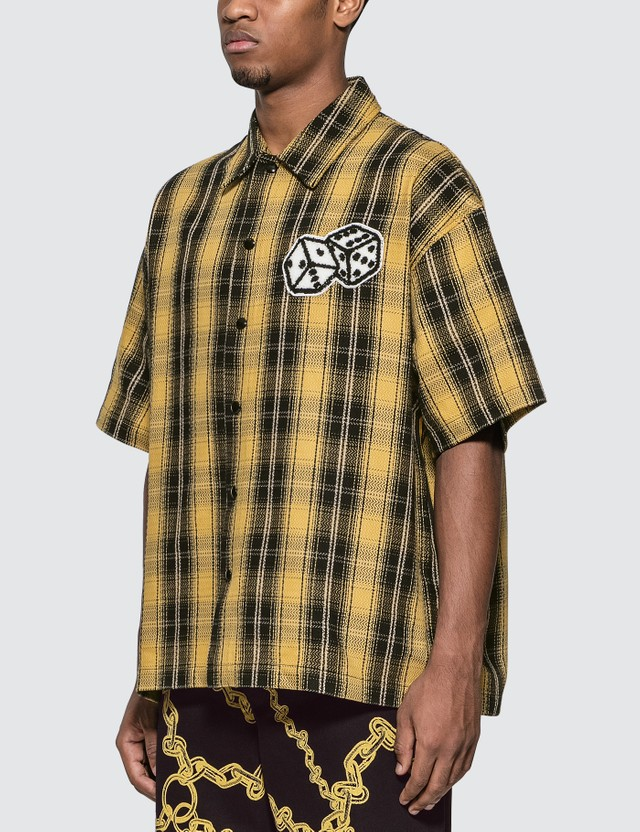 Just Don The Dealers Plaid Snap Shirt