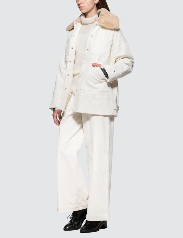 Ganni Ridgewood Jacket White Women