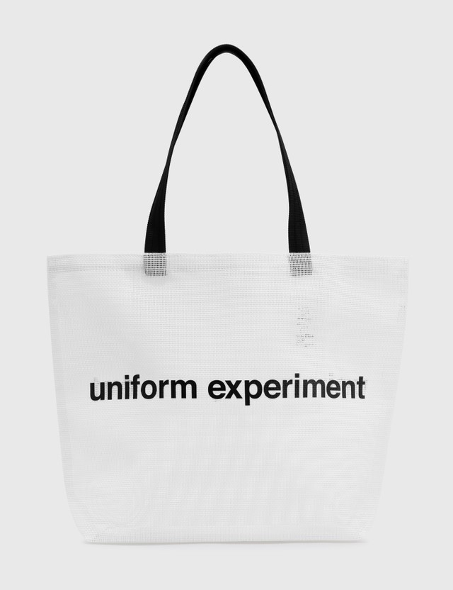 uniform experiment Mesh Tote Bag White Men