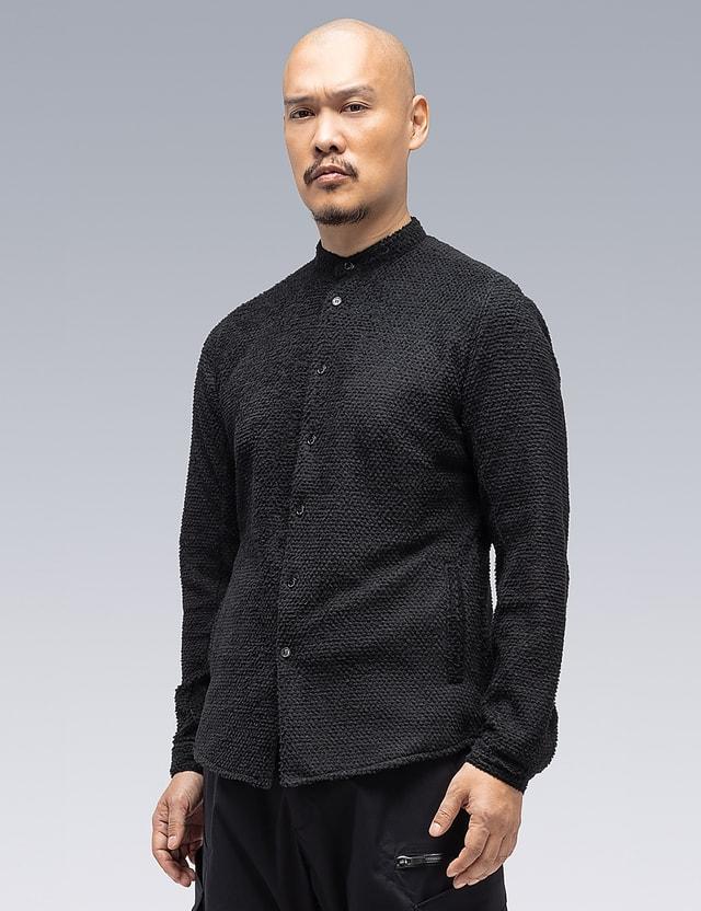 ACRONYM Lofted Knit Fiber Long Sleeve Shirt