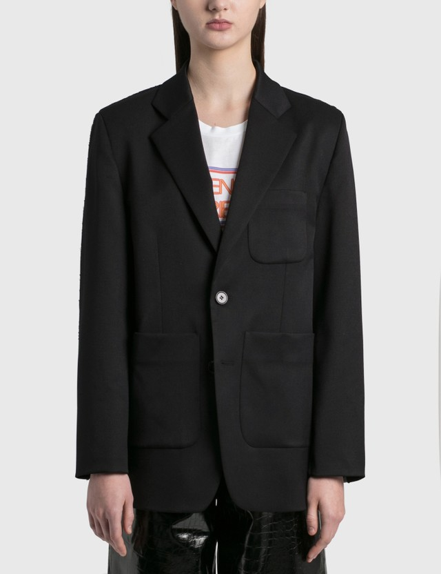 MM6 Maison Margiela Spliced Blazer