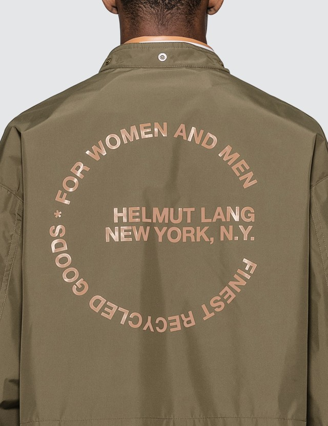 Helmut Lang Detachable Hood Raincoat