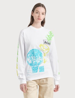 Aries French Monster Long Sleeve T-Shirt