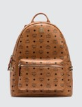 MCM Stark Side Studs Backpack in Visetos Picture