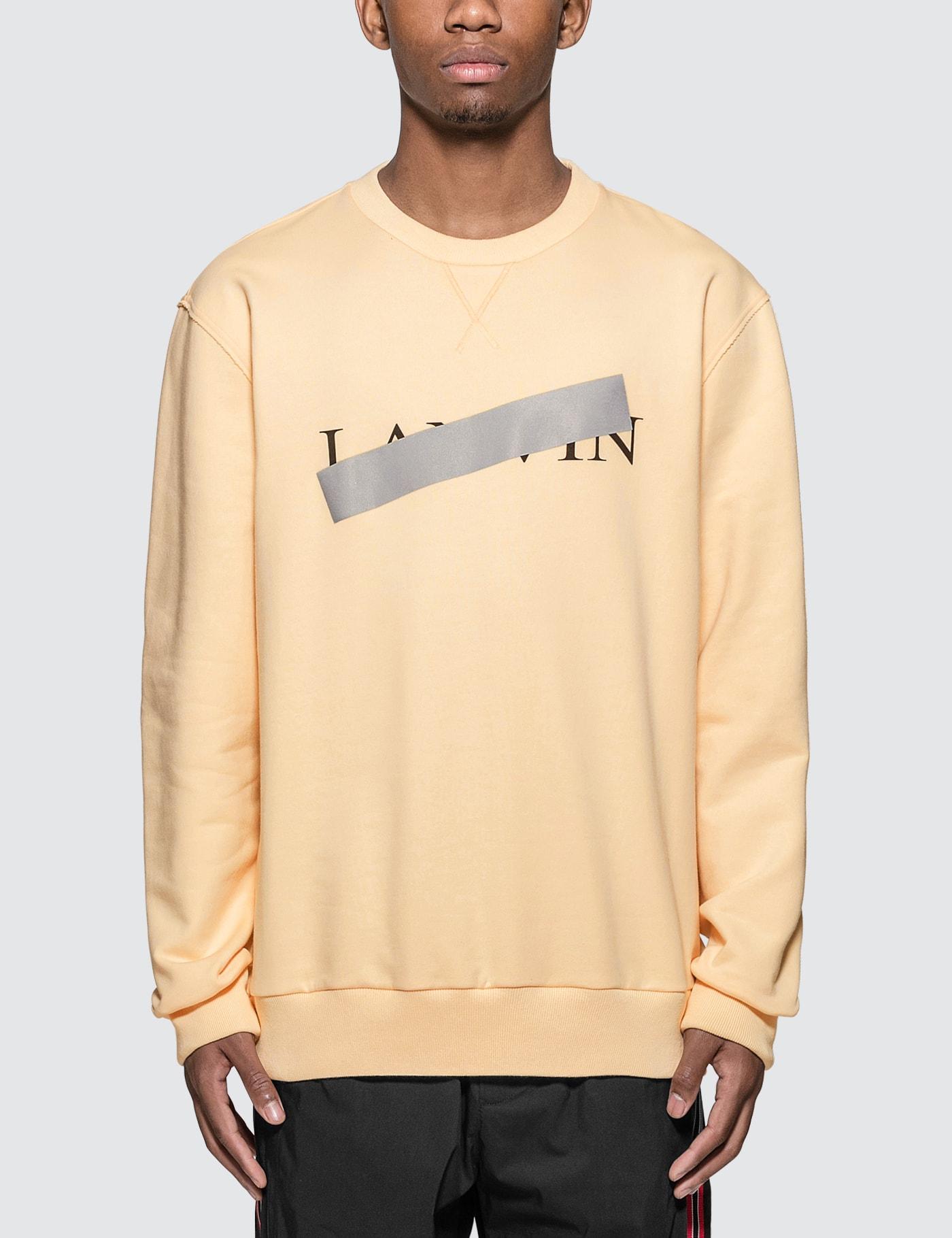 Lanvin Bar Print Sweatshirt