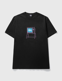 Stussy Rolling TV Pig. T-shirt